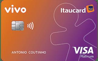 Cartão Vivo Itaucard Cashback Platinum Visa