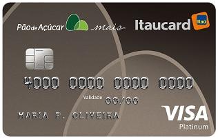 Cartão Pão de Açúcar Mais Itaucard Platinum