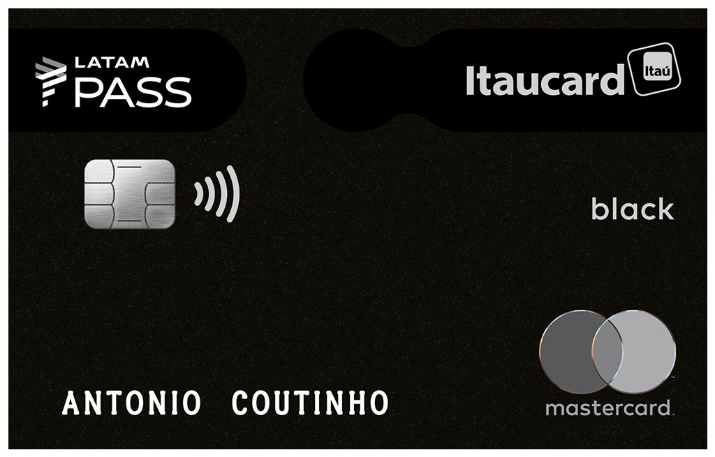 Cartão LATAM PASS Itaucard Black Mastercard