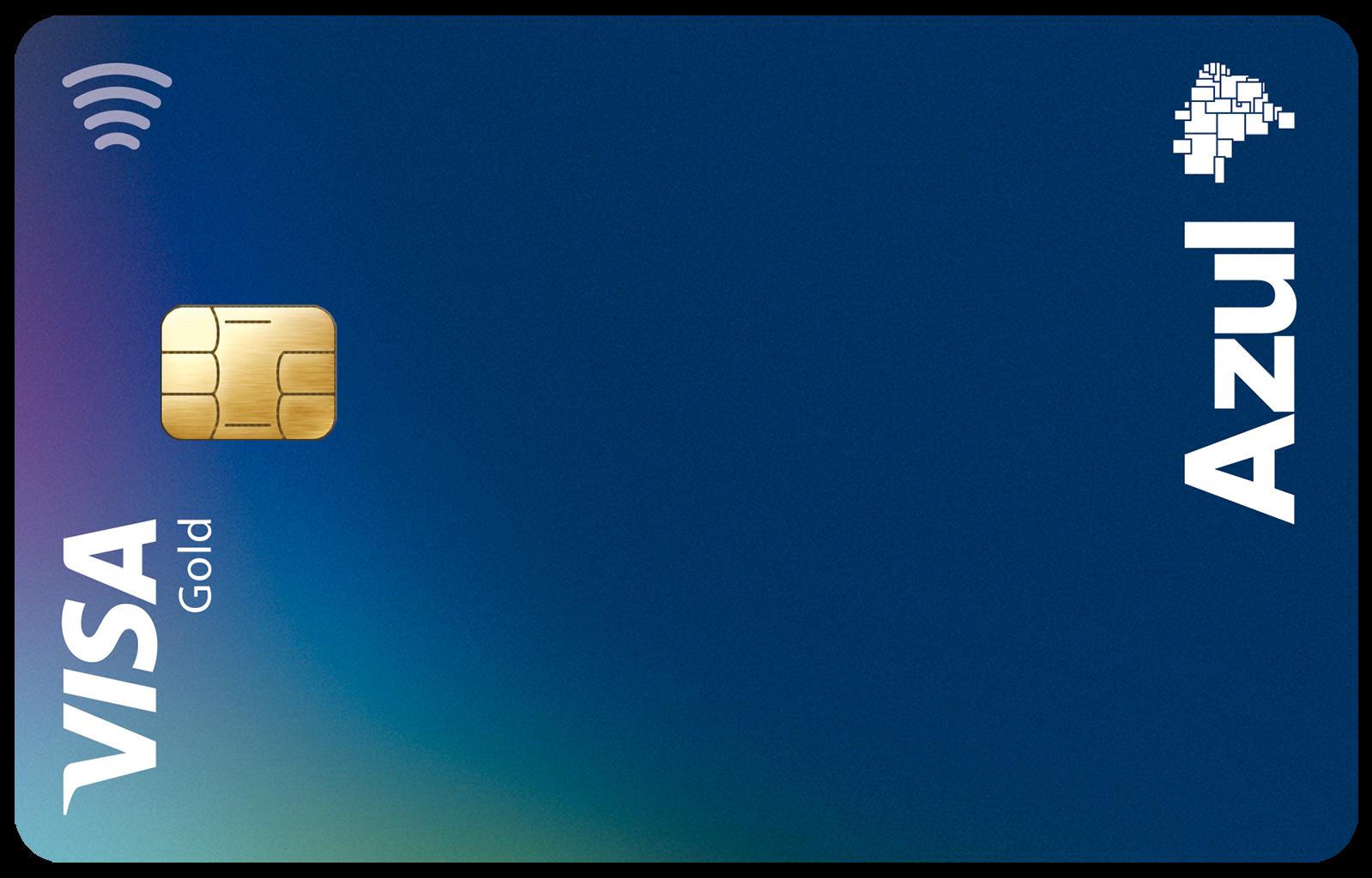 Azul Itaucard Gold Visa