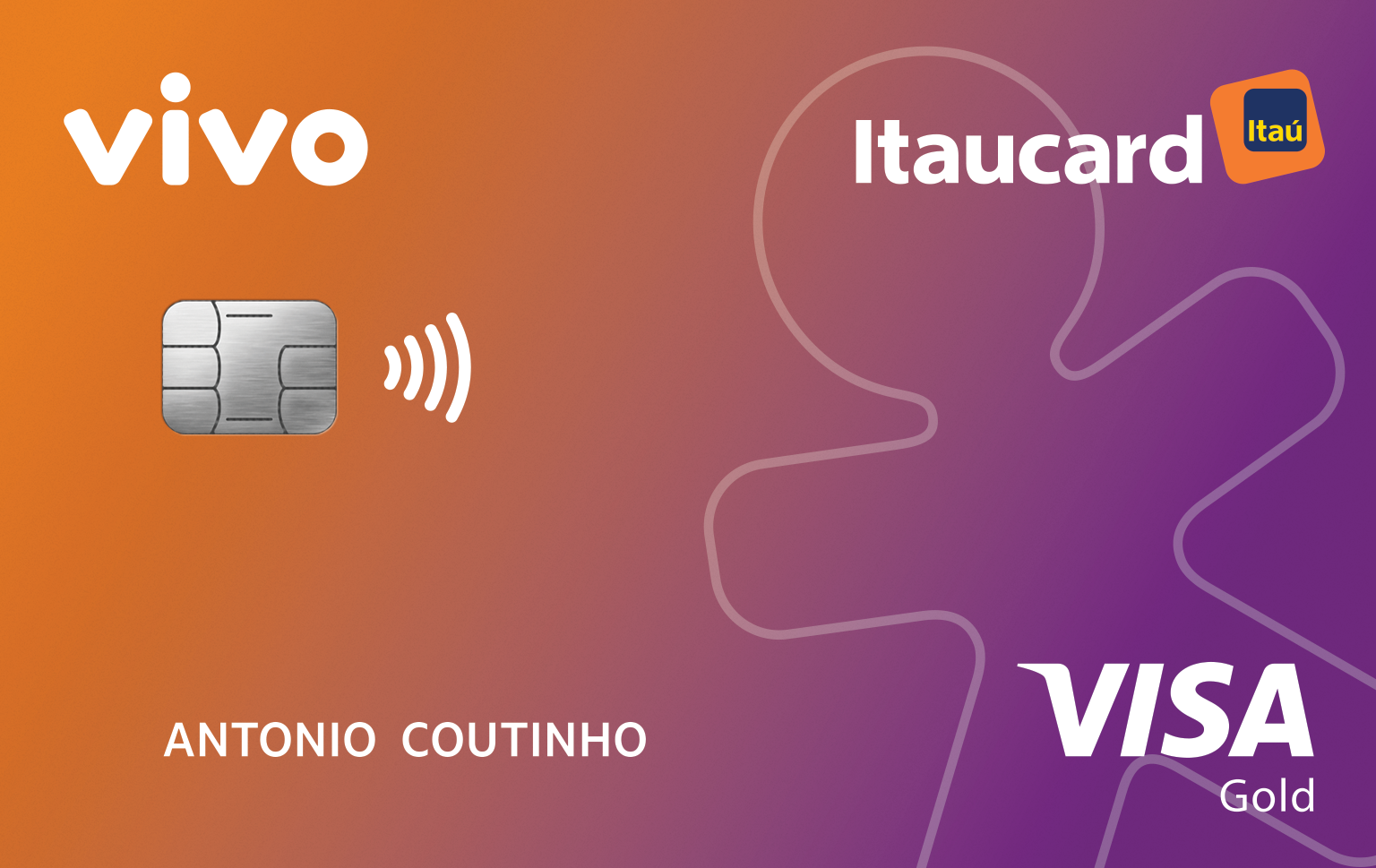 Cartão Vivo Itaucard Cashback Gold Visa