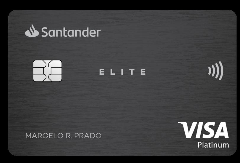 Cartão Santander Elite Platinum