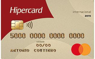 Hipercard Mastercard Internacional Zero