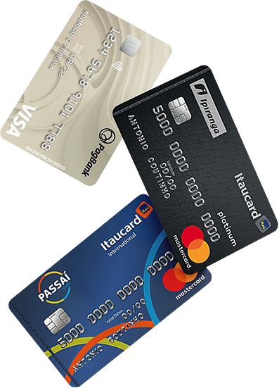 Encontre cartões de crédito