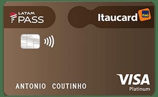 LATAM PASS Itaucard Visa Platinum