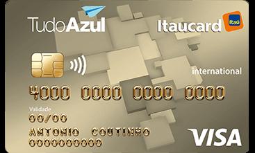 TudoAzul Itaucard Internacional Visa