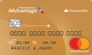 Cartão Santander / AAdvantage® Gold Mastercard